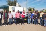 Entregan camioneta a pescadores de La Reforma