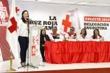 Se comprometen funcionarios de Angostura a donar 200 mil pesos a la Cruz Roja
