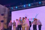 """Entregan galardones """"Golden Deer"""" a promotores turísticos, en la Fiesta Amigos de Mazatlán"""