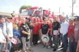 """Rotarios de Canadá también entregan camión de Bomberos en """"La Palma"""""""