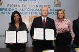 Firma la UAS convenio de colaboración con la Junta de Asistencia Privada de Sinaloa