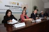 Promoverán UAS y Congreso del Estado la vinculación interinstitucional a través de convenio