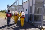 Protección Civil de Salvador Alvarado sanitiza el edifico de la cárcel regional