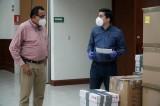 Entrega Congreso a HGC 6 mil 070 insumos médicos