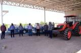 Entregan equipo agrícola a productores de Salvador Alvarado