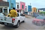 Brigada Sanitiza sector nor-oriente de Culiacán