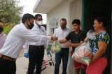 Continúa PRI, Instituto Reyes Heroles y Fuerza Sinaloense con entrega de apoyos a familias