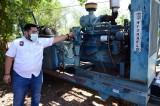 Instalan bombas en Las Garzas para disminuir riesgos de inundaciones