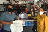 Comerciantes angosturenses reciben equipos de protección sanitaria