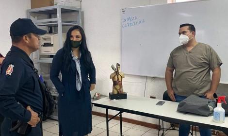 Policías donan 9 mil pesos para enfermo de Covid-19 en Angostura