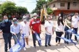 Quirino cumple su compromiso con El Pozole, Rosario