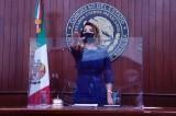 Presidirá Diputada del PAN Roxana Rubio presidencia de Mesa Directiva