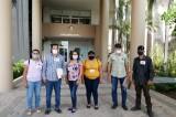 Acuden ex policías de Mocorito al Congreso del Estado