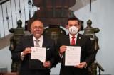 Firman carta intención para el hermanamiento de Mazatlán y Dolores Hidalgo, Guanajuato