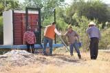 Introducen agua potable al Mezquite Gordo