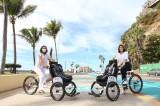 Implementa DIF Mazatlán proyecto de Tricicletas para personas con discapacidad en el Malecón