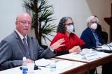 Recibe Congreso del Estado a Rector de la UAS