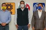 Registran alianza por Sinaloa el PRI, PAN y PRD