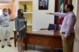 Ebelizario Parra es el nuevo director de Acción Social en Salvador Alvarado