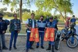 Dara CEPREVSIN Y SESESP chalecos reflejantes a motociclistas y ciclistas