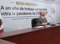 Destacan el trabajo coordinado entre la UAS y diferentes instituciones para hacerle frente a la pandemia