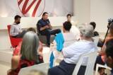 Mario Zamora se compromete a un incremento progresivo al presupuesto cultural