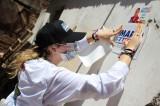 Hijas del Candidato a Gobernador Mario Zamora realizan toque de puerta en Guasave
