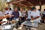 Mujeres de la comunidad indígena de San Miguel y Ejido 5 de mayo respaldan a Mario Zamora