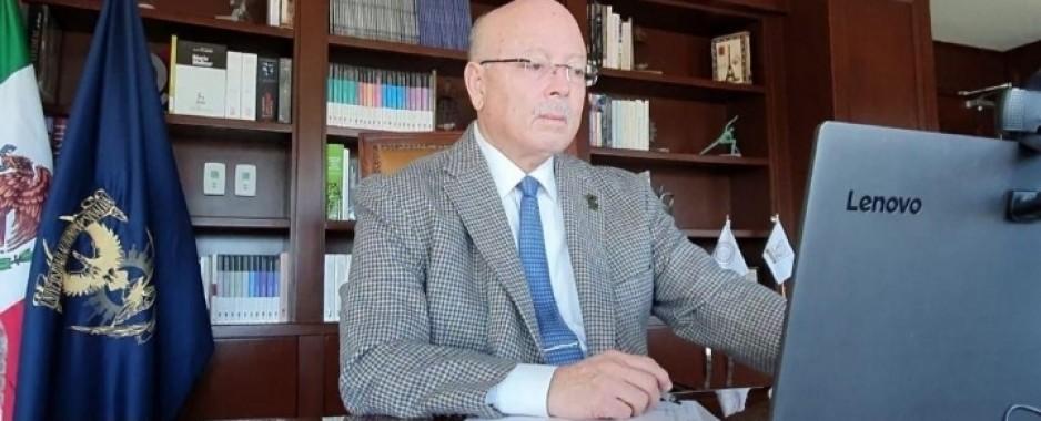 Reconoce Rector aspectos positivos al publicarse la Ley General de Educación Superior