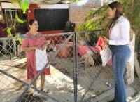 Reciben con los brazos abiertos a Gloria González en colonia Las Malvinas, Los Mochis