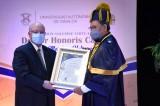 Otorga la UAS el Doctorado Honoris Causa al escritor Élmer Mendoza