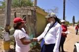 Proyecta Aglaee Montoya mejores condiciones de vida para La Reforma
