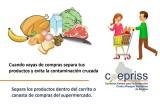 Coepriss emite recomendaciones para evitar la contaminación cruzada de alimentos