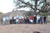 Solución al problema de falta de agua en Sayotita ofrece Lupita Iribe