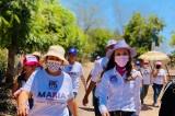 María Elizalde recorre y siente respaldo en 265 comunidades
