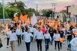 Espectacular cierre de campaña de Valerio Cervantes en Mocorito