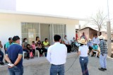 Entrega Lorena PérezDispensario Médico a habitantes de El Paso de San Nicolás