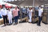 Quirino entrega motores marinos a pescadores ribereños