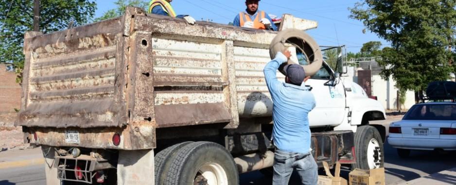 Arranca programa de descacharrización en Salvador Alvarado