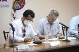 Firma Quirino convenio con el SNTE 53 para mejoras salariales y prestaciones