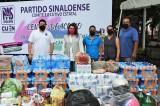 Agradece PAS  ciudadanos por atender llamado de ayuda para los damnificados por el huracán Nora