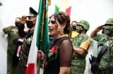 Llena de júbilo, alcaldesa de Salvador Alvarado grita el ¡Viva México!