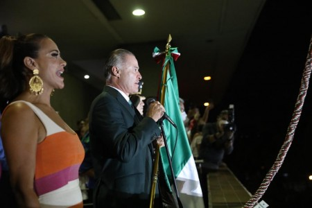 Quirino conmemora la Independencia de México