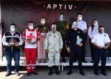Reconoce APTIV a funcionarios y equipos de rescate que participaron durante contingencia