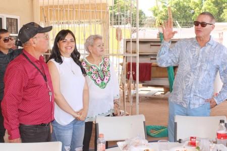 Quirino Ordaz realiza su última visita como Gobernador a Angostura